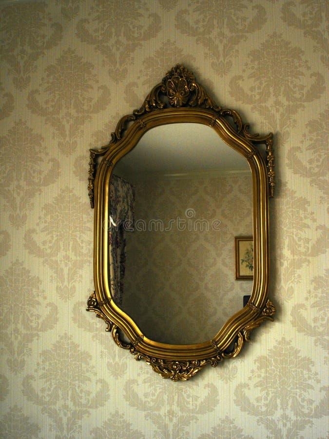 Viktorianischer Spiegel lizenzfreie stockfotografie