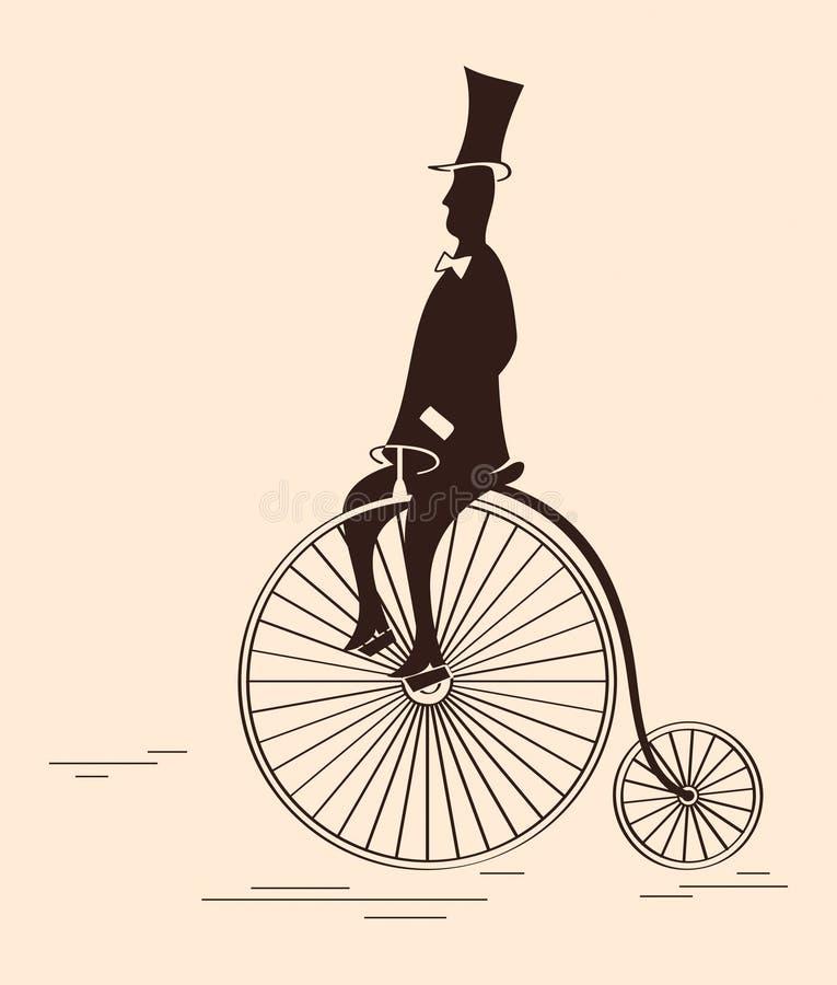 Viktorianischer Sport vektor abbildung