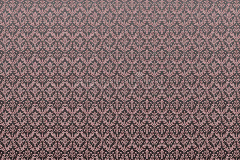 Viktorianisches Damast-Muster vektor abbildung