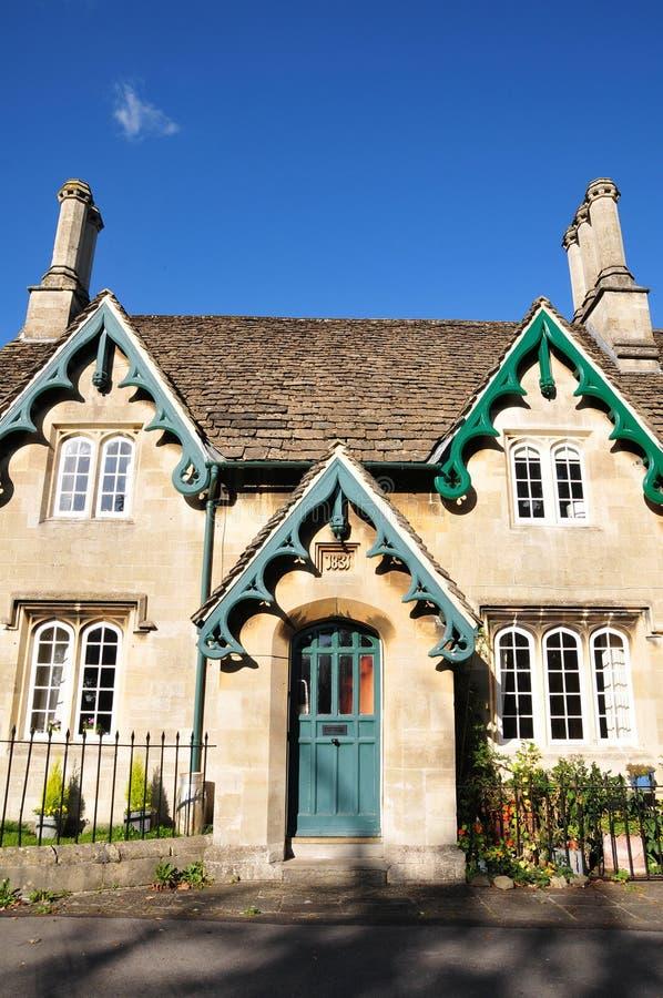 Viktorianisches Häuschen stockbild