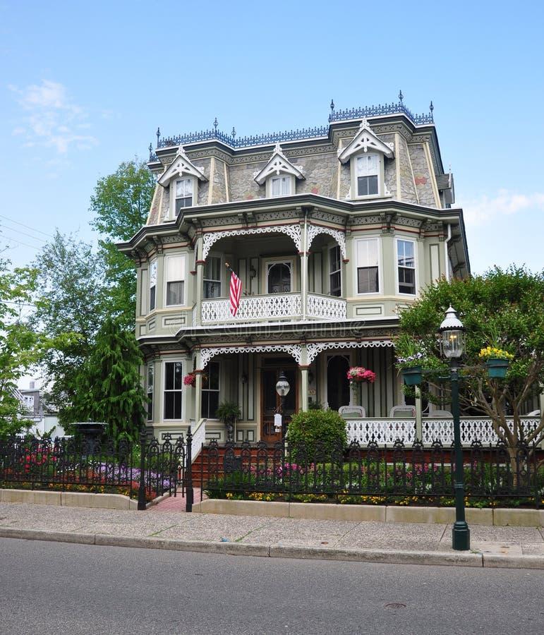 Viktorianisches Haus stockfotos