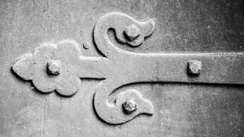 Viktoriansk Ironwork arkivfoto