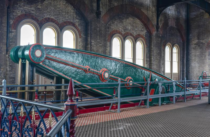 Viktoriansk pumpa station för Crossness royaltyfria foton
