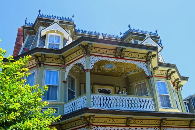 Viktorianskt hus i Cape May, ny Jersey_2 royaltyfri bild