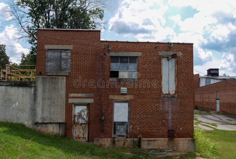 Vila abandonada do moinho de algodão de Oakdale foto de stock royalty free