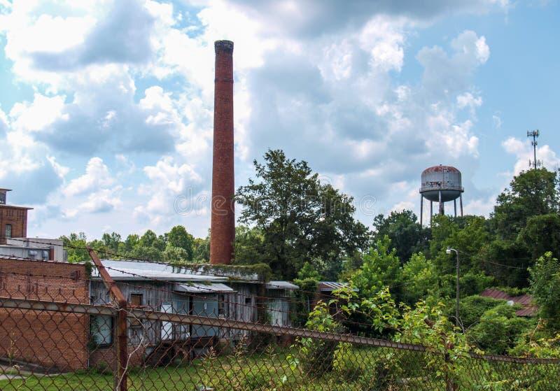 Vila abandonada do moinho de algodão de Oakdale fotos de stock royalty free