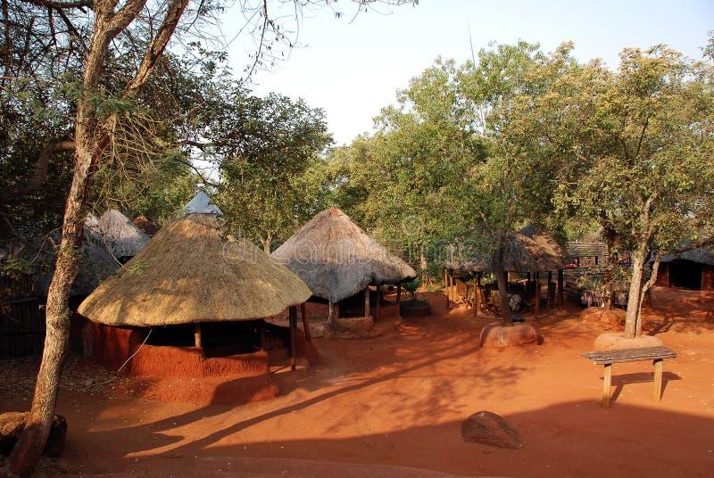 Vila africana imagem de stock royalty free
