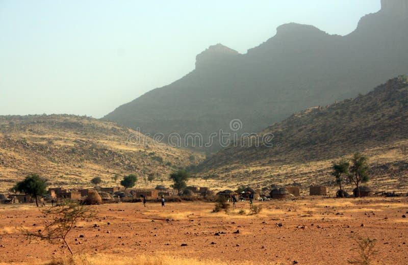 Vila africana imagens de stock royalty free