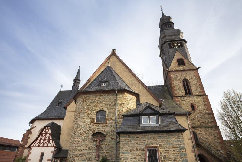 vila Alemanha do taunus do am do hofheim fotografia de stock