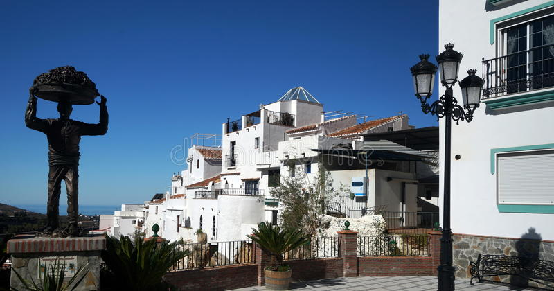Vila andaluza imagens de stock