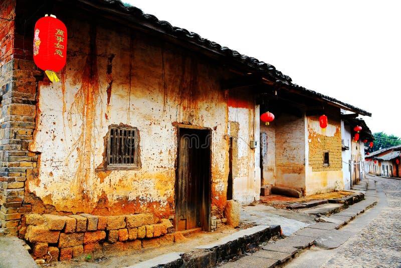 Vila antiga de Longhu da cidade de shantou, guangdong, porcelana fotografia de stock
