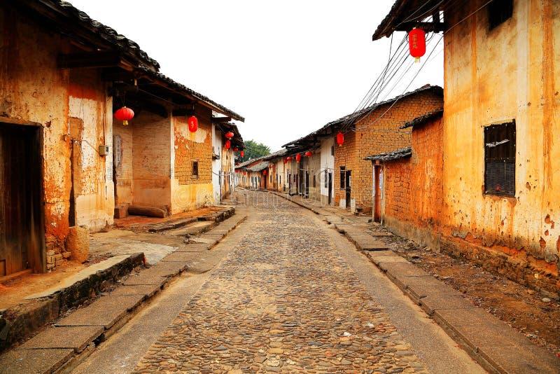 Vila antiga de Longhu da cidade de shantou, guangdong, porcelana imagem de stock royalty free