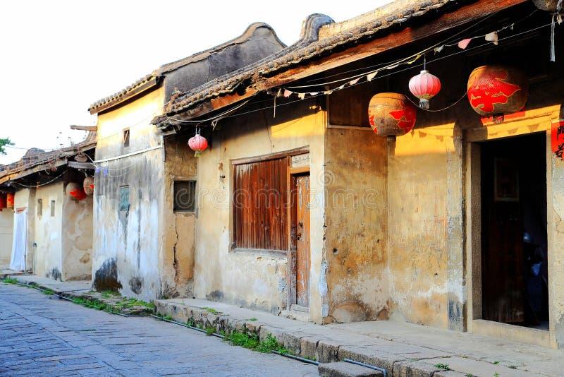 Vila antiga de Longhu da cidade de shantou, guangdong, porcelana fotos de stock