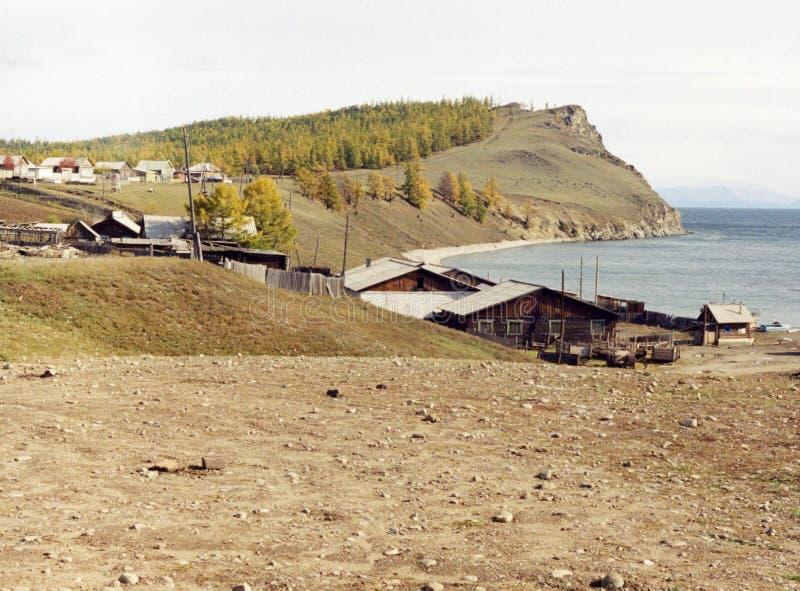 A vila Baikal'skoe imagens de stock