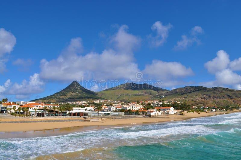Vila Baleira - Porto Santo stockfoto