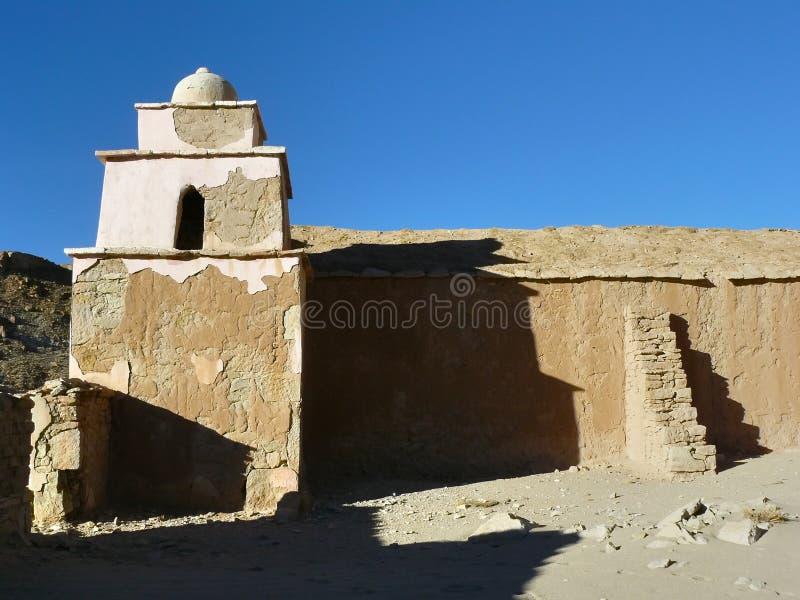 Vila Barrancos, Altiplano, Bolívia fotos de stock