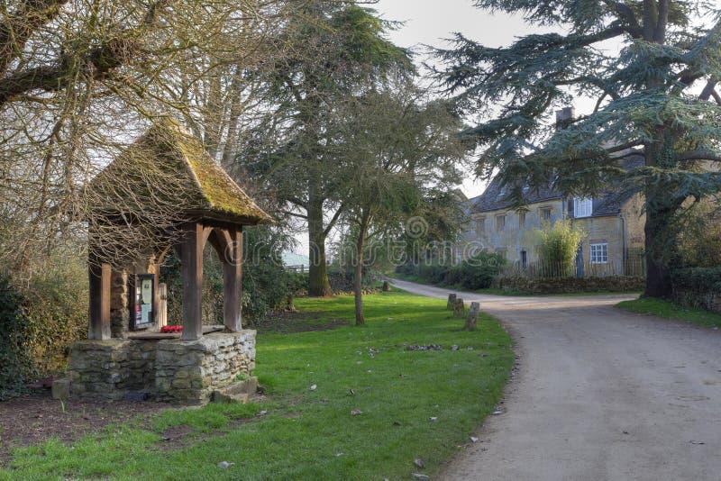 Vila bonita de Cotswold fotografia de stock