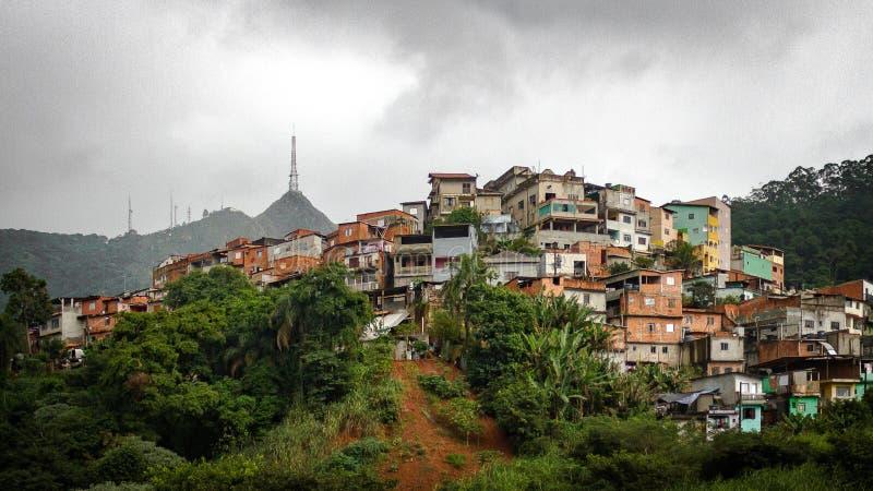 Vila Chica Luisa royaltyfri fotografi