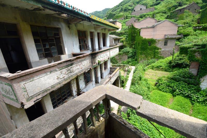Vila chinesa abandonada fotografia de stock royalty free
