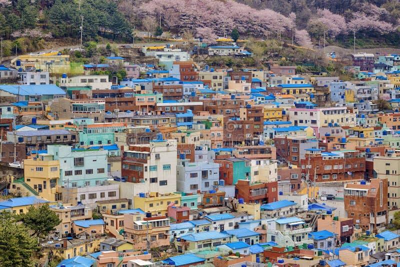 Vila da cultura de Gamcheon fotografia de stock royalty free