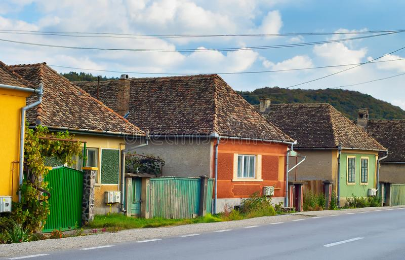 Vila da Transilvânia, Romênia imagem de stock royalty free