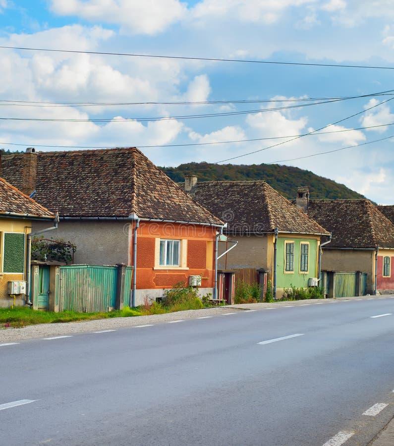 Vila da Transilvânia, Romênia imagens de stock royalty free