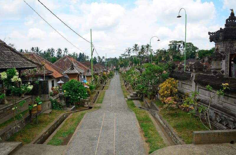 Vila de Bali Aga, Penglipuran, Bali, Indonésia imagem de stock royalty free
