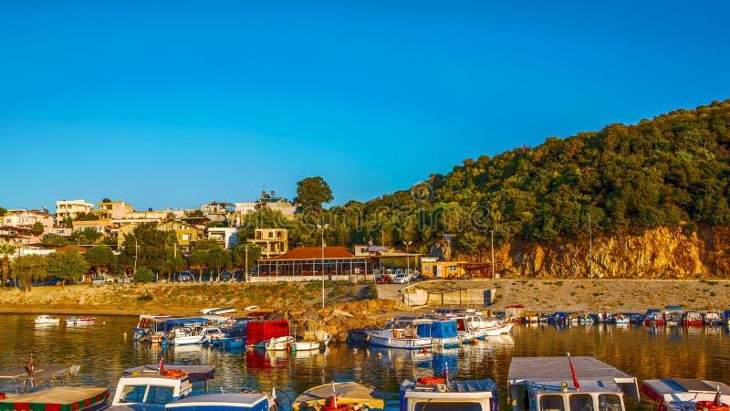 Vila de Cakmakli em Izmir imagem de stock royalty free
