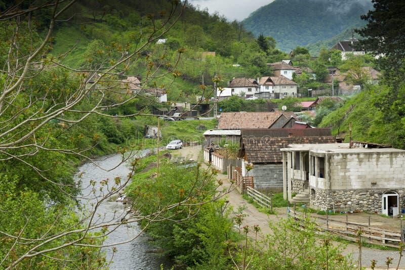 Vila de Capalna Romênia fotografia de stock royalty free