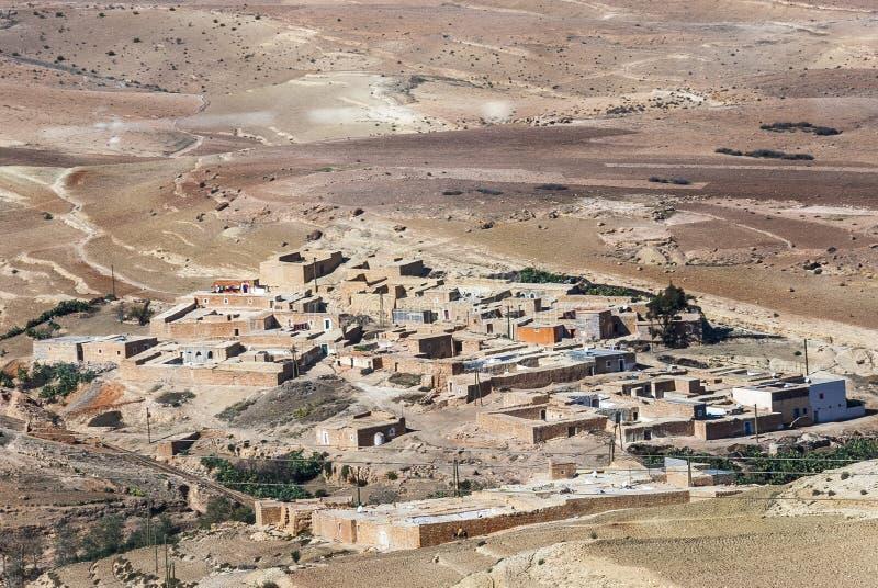 Vila de deserto imagem de stock