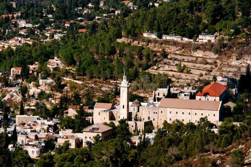 Vila de Ein Karem em Jerusalem fotografia de stock royalty free
