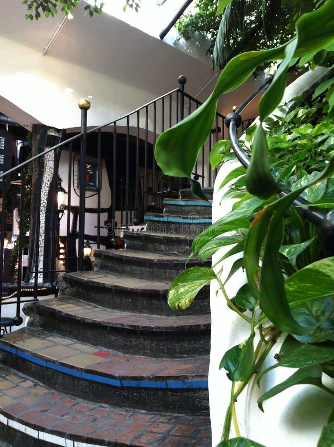Vila de Hundertwasser imagens de stock