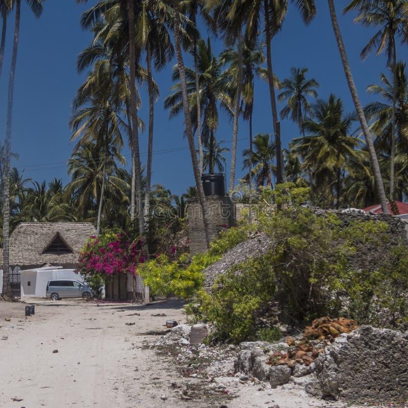 Vila de Kiwenga imagem de stock