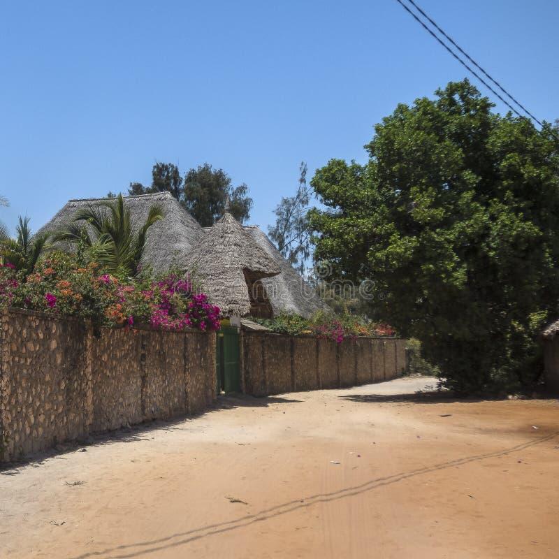 Vila de Kiwenga imagem de stock royalty free