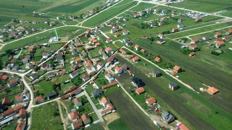 Vila de Kosovo fotografia de stock royalty free