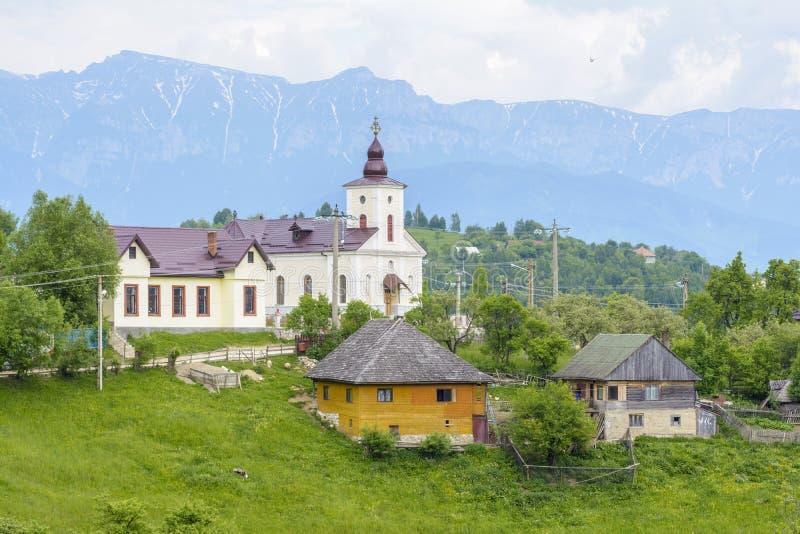 Vila de Magura, a Transilvânia, Romênia fotos de stock royalty free