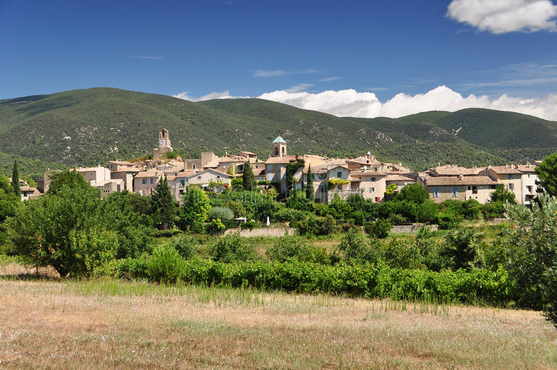 Vila de Provence imagens de stock