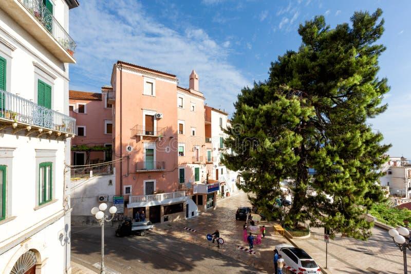 Vila de RODI GARGANICO em Puglia imagens de stock royalty free