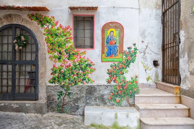 Vila de RODI GARGANICO em Puglia imagem de stock royalty free