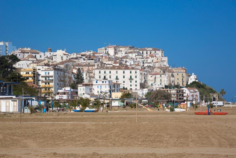 Vila de RODI GARGANICO em Puglia fotos de stock