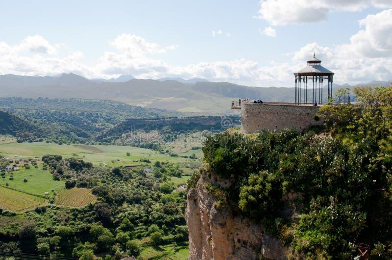 Vila de Ronda em Andalucia, Spain imagens de stock