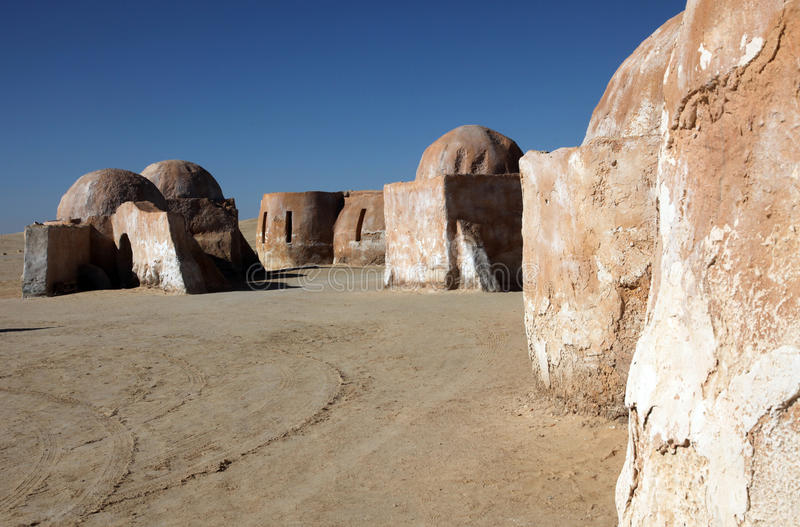 Vila de Star Wars fotografia de stock royalty free