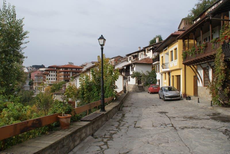 Vila de Veliko Tarnovo, Bulgária foto de stock