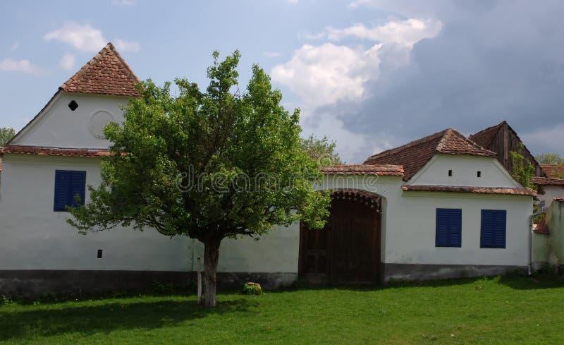 Vila de Viscri fotografia de stock