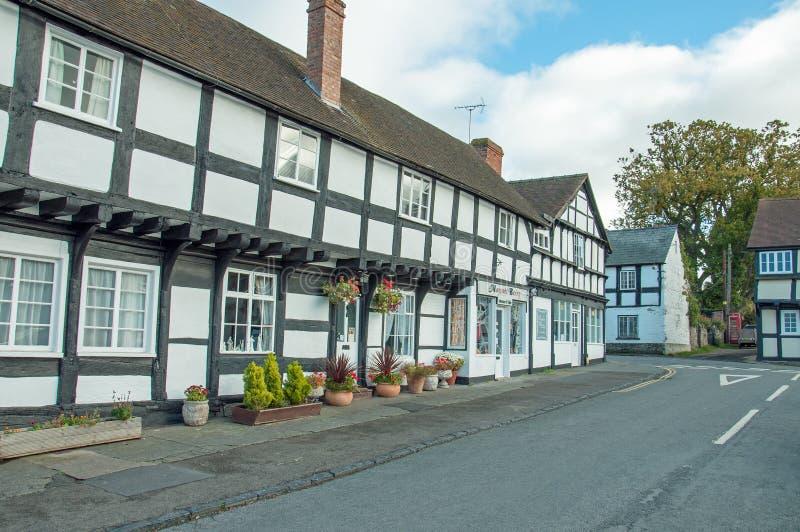 Vila de Weobley em Herefordshire imagens de stock royalty free