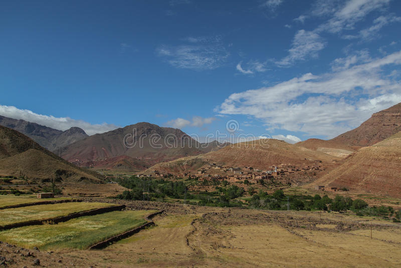 Vila do Berber foto de stock