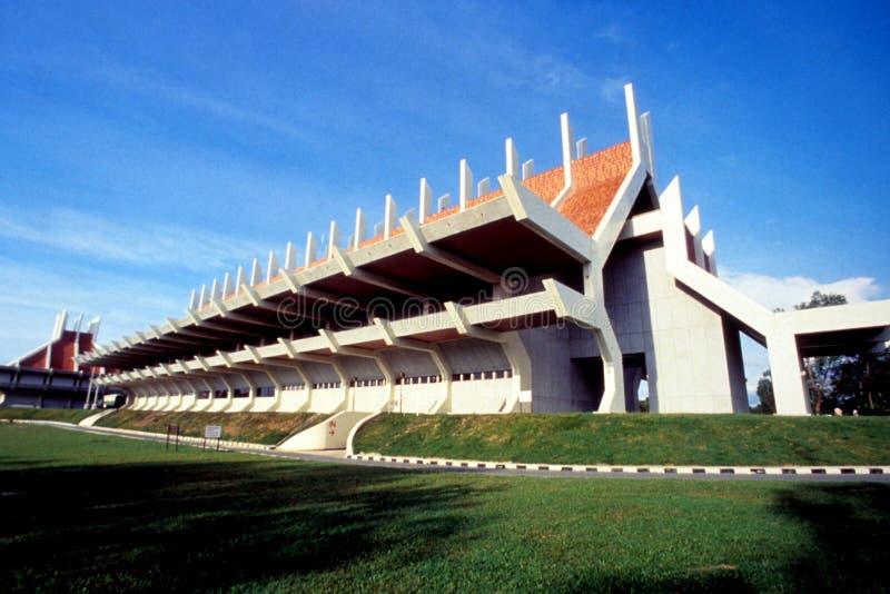 Vila do Patrimônio e Museu do Estado de Sabah fotos de stock