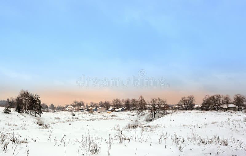 A vila do russo imagem de stock royalty free