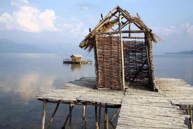 Vila do `s dos pescadores fotografia de stock
