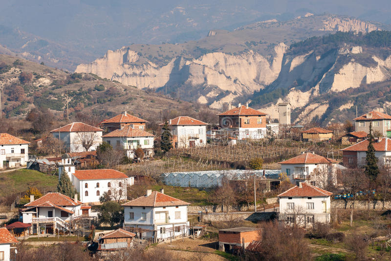 Vila do vinho em Bulgária imagens de stock